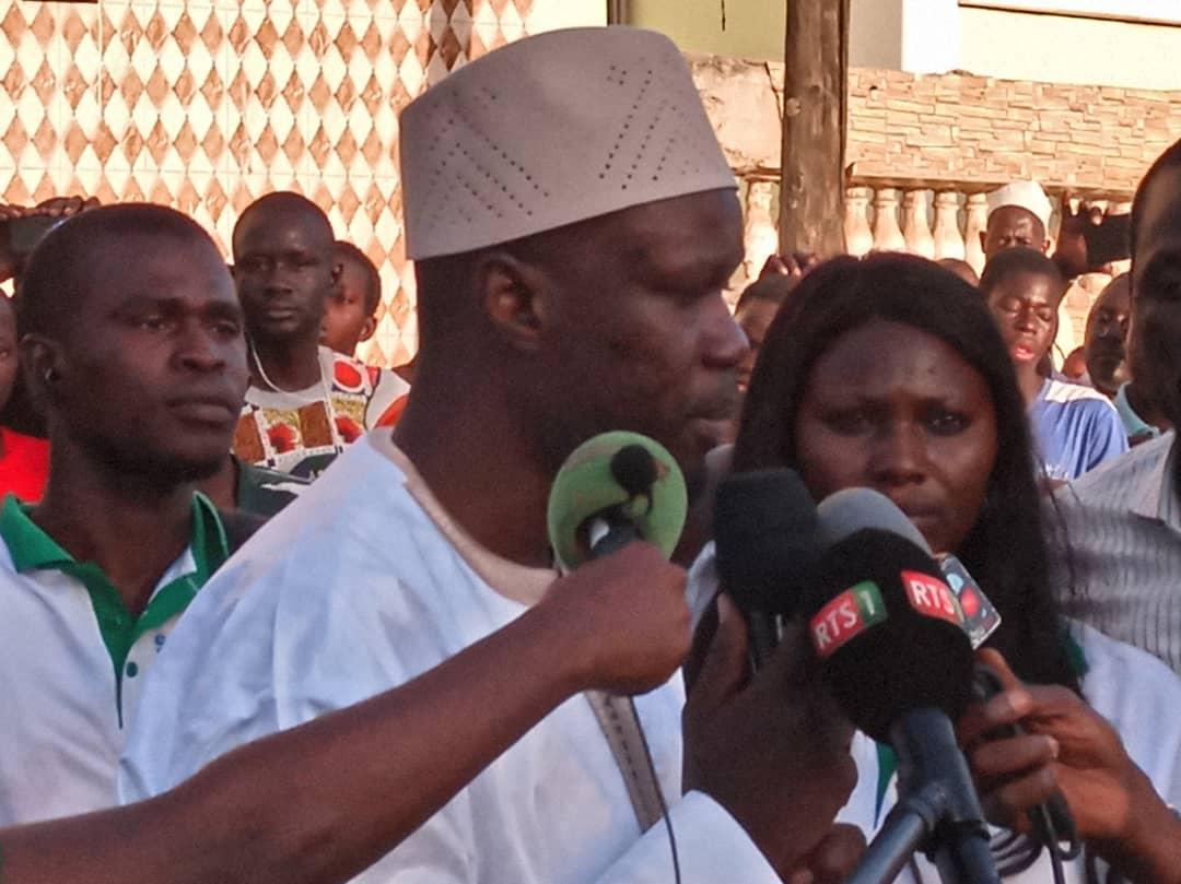"""Ousmane Sonko revient sur la violence exercée sur ses militants: """"Après avoir lâchement assassiné Mariama Sagna..."""""""