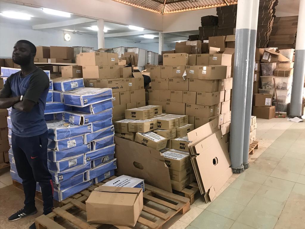 Vidéo - Aly Ngouille Ndiaye annonce plus de 8.000.000 millions de bulletins imprimés pour chaque candidat