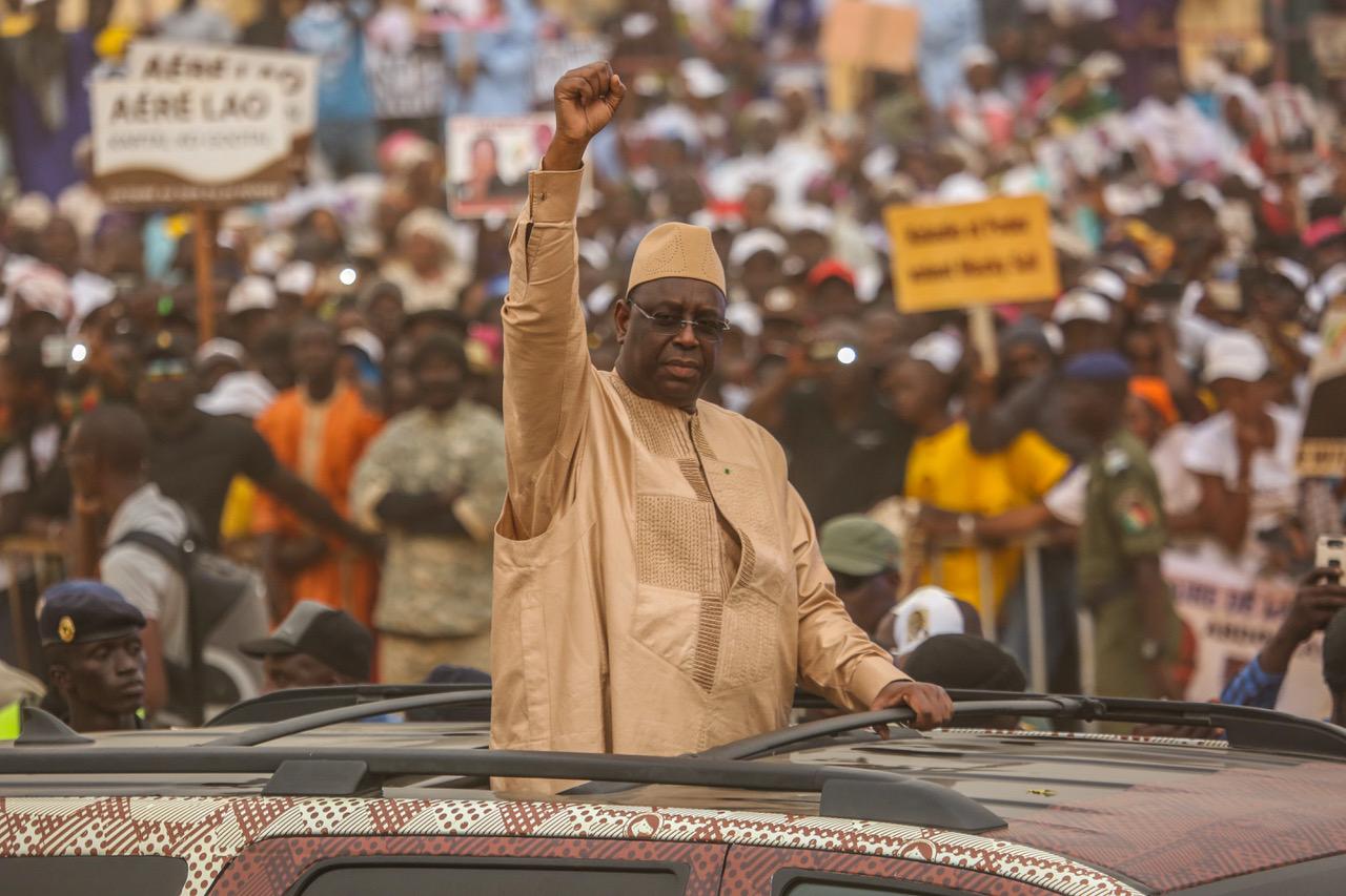 Podor: Macky Sall accueilli en grande pompe par des leaders divisés
