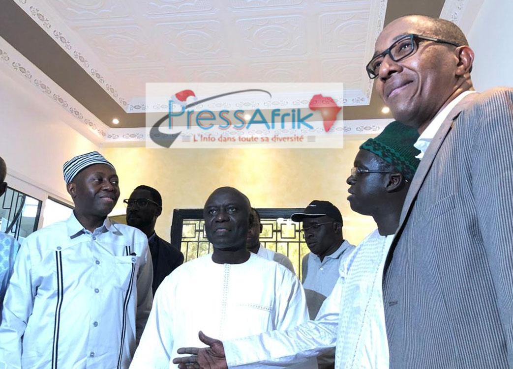 """Idrissa Seck à ses souteneurs : """"ils me galvanisent lourdement"""""""