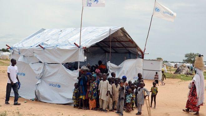 Incendie dans un camp de déplacés au Nigeria