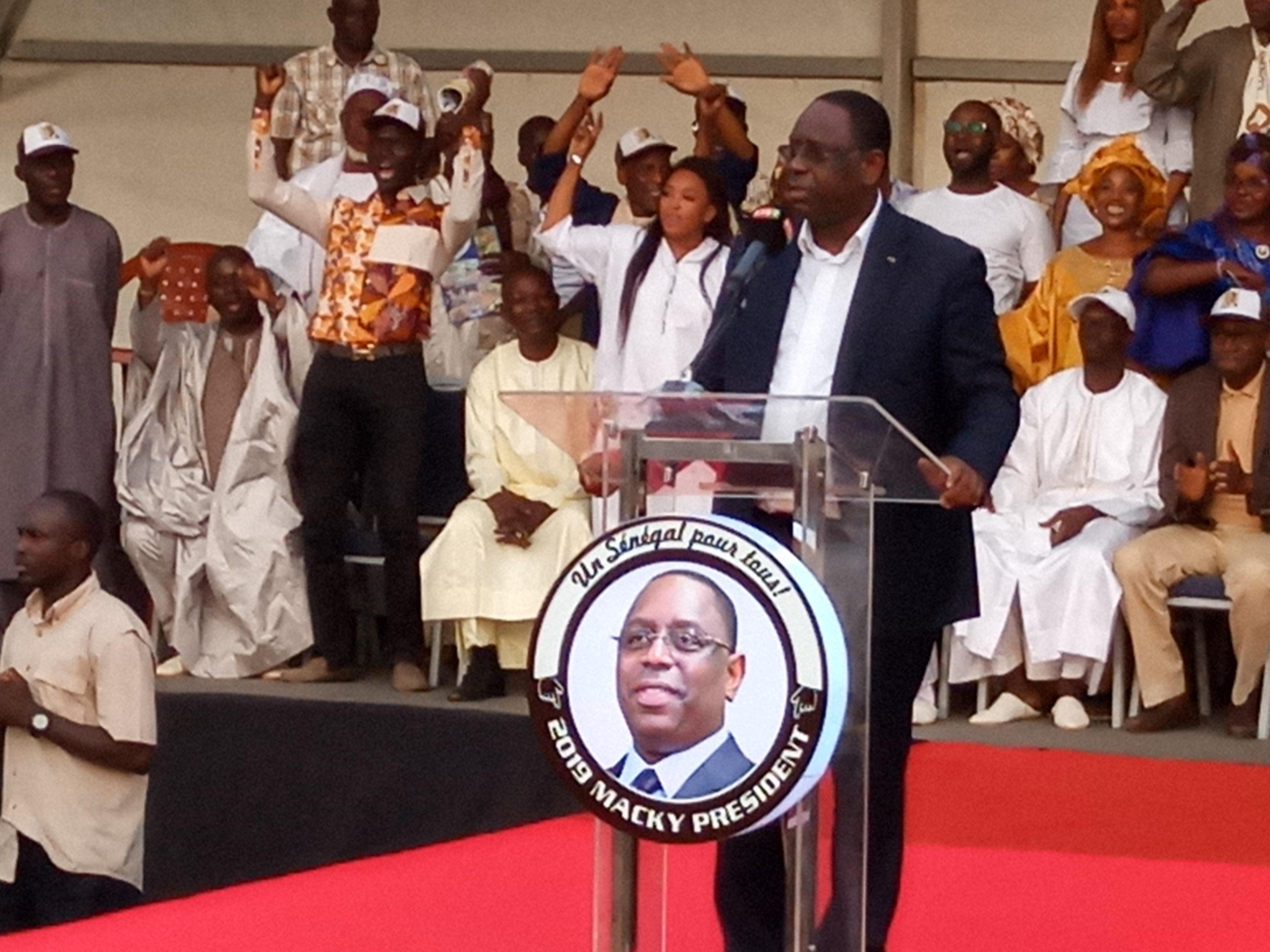 Macky Sall : «Nous avons déjà gagné Tambacounda… »