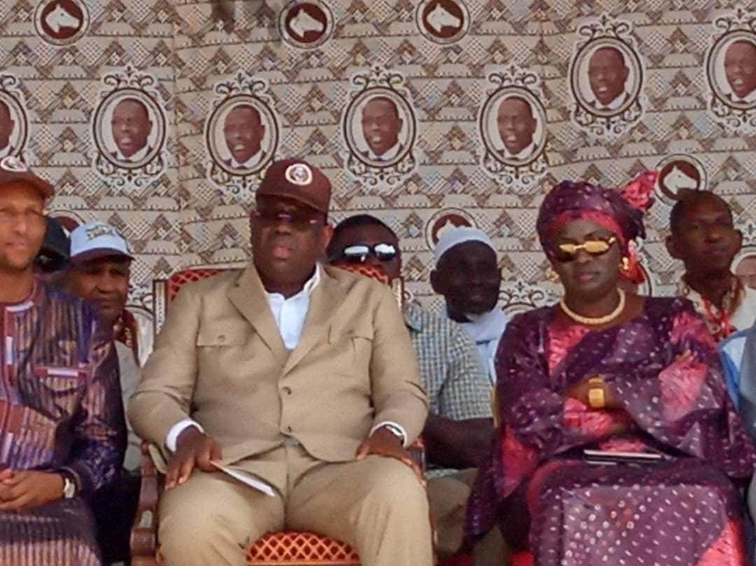 Vélingara : Macky Sall se positionne en candidat de la continuité.
