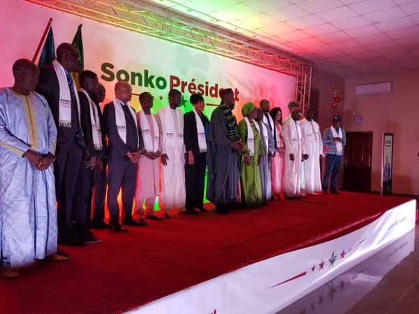 """Graves accusations de Sory Kaba: la Coalition Sonko Président parle de """"vaine manœuvre qui va vite se dégonfler"""""""