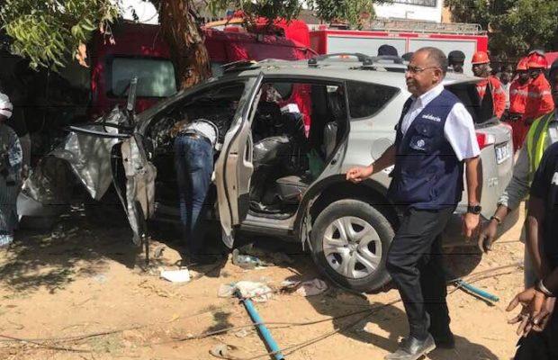 Mously Mbaye, la conductrice du véhicule accidenté à Amitié est décédée