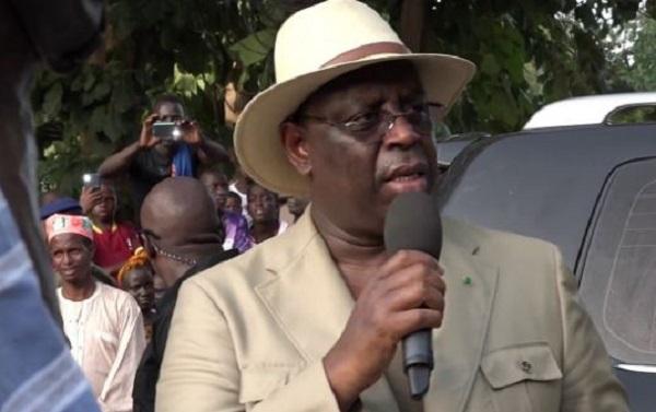 La phrase polémique de Macky à Bignona : «Si vous voulez que la Casamance intègre le Sénégal, votez BBY»