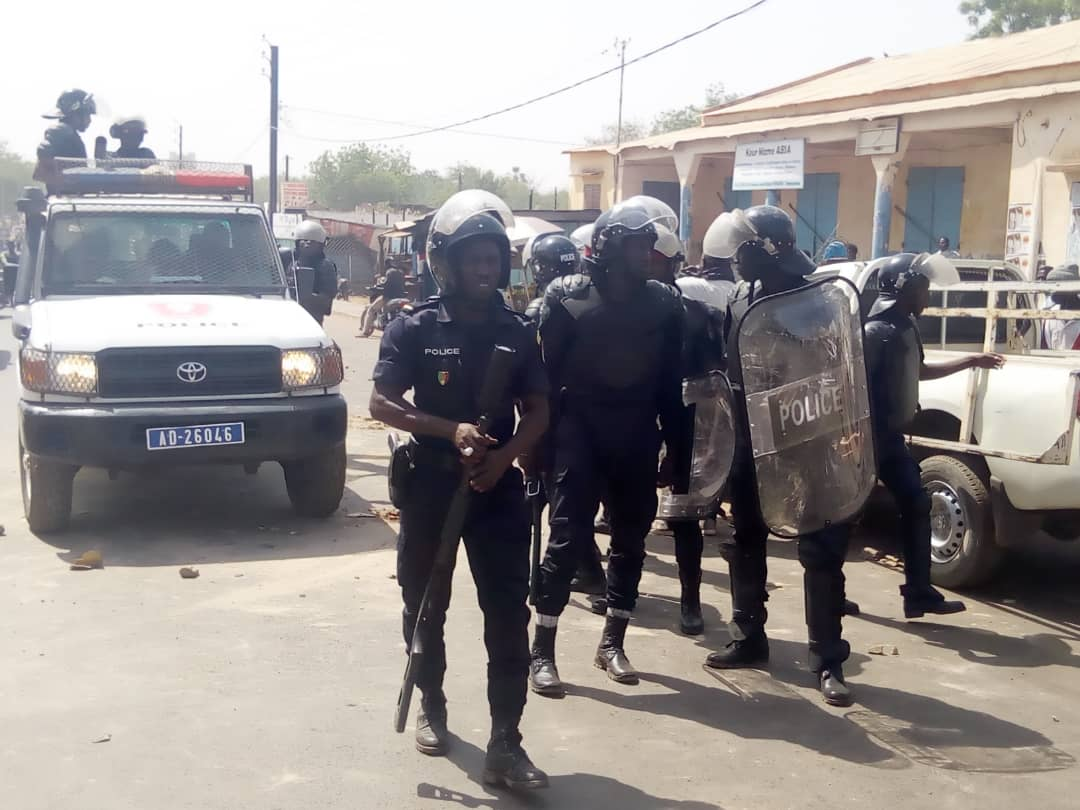 Dernière minute - Les journalistes ont quitté Tamba pour Dakar sous escorte de la gendarmerie