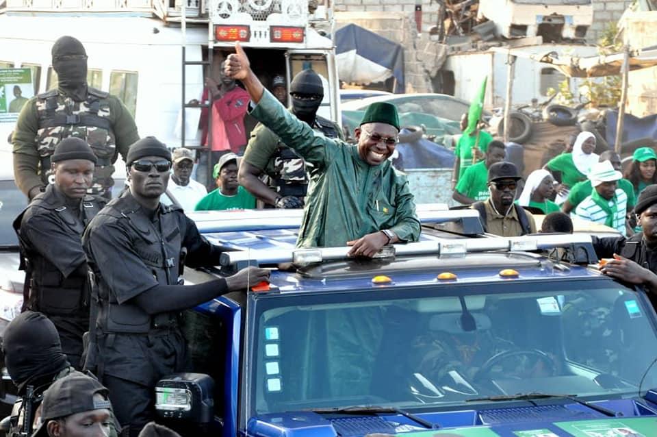 Le candidat du PUR Issa Sall en route pour Dakar sous escorte...il fera face à la presse demain mercredi