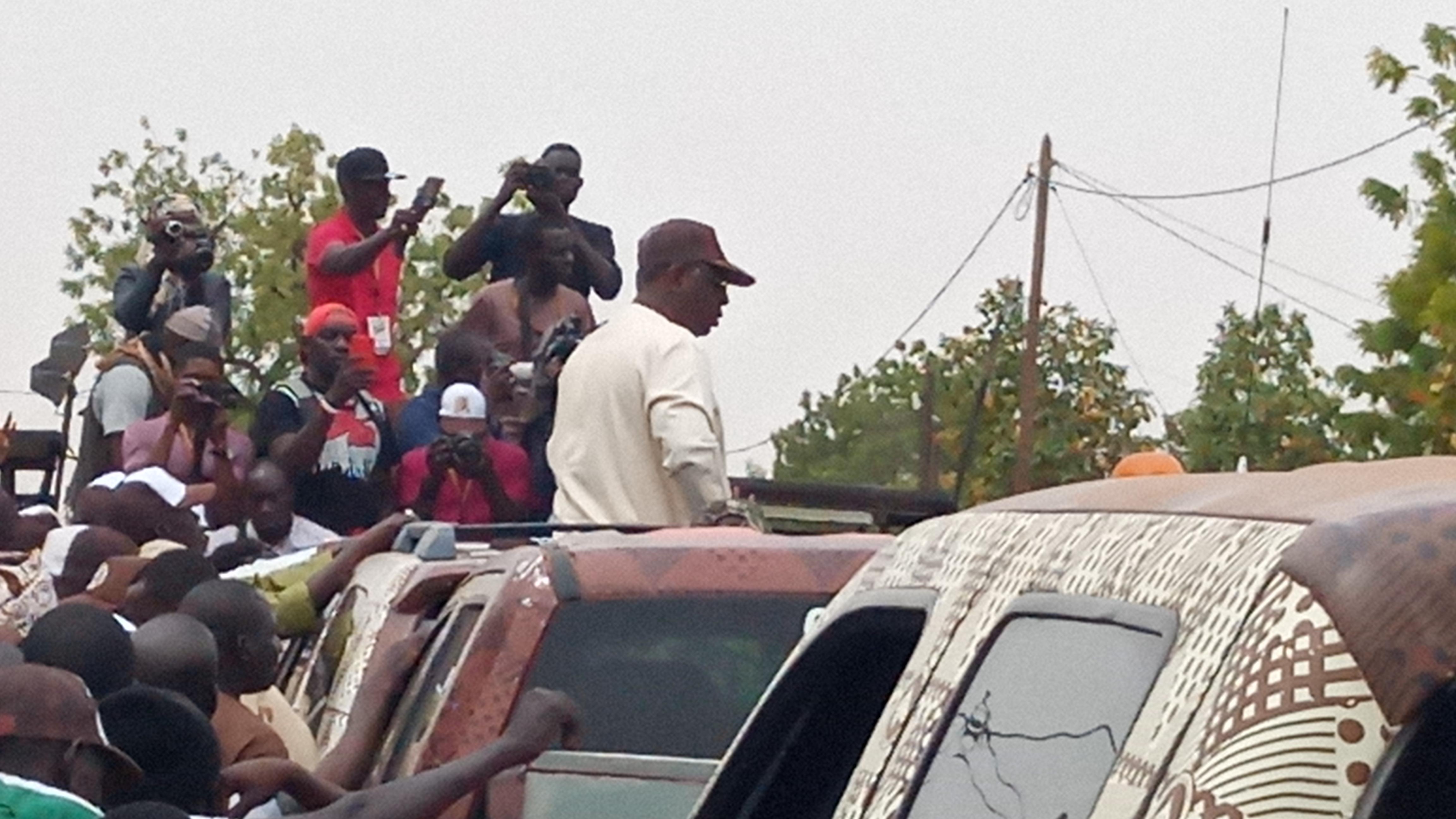 Macky Sall à Gandiaye : «Mon premier mandat était pour rattraper les erreurs... »