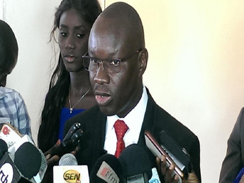 Bernard Casimir Cissé,  Directeur de la formation et de la communication à la Direction générale des élections