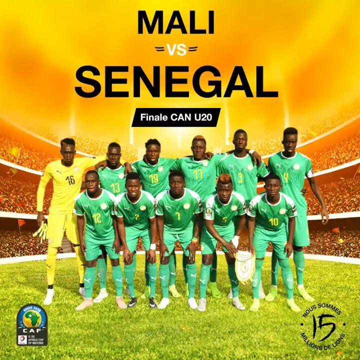 CAN U 20 : encore une finale perdue pour le Sénégal