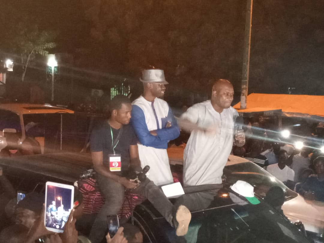 Présidentielle 2019 à Ourossogui: Sonko invite Macky à s'inspirer de Thierno Souleymane Ball