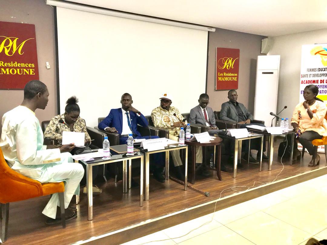 Présidentielle 2019 : l'Ong FECSDA a initié un débat entre représentants jeunes des 5 candidats