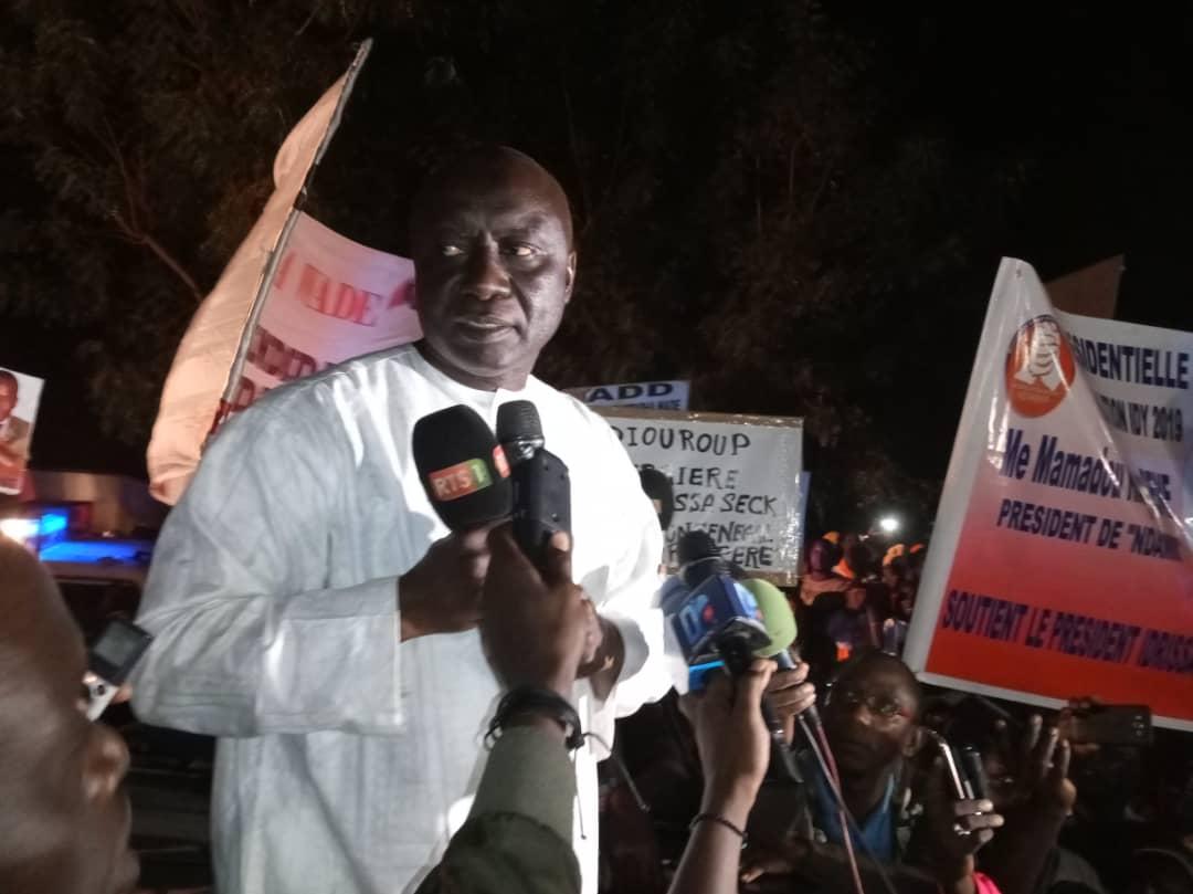 "Fatick: Idrissa Seck ""grille"" Macky Sall dans sa ville natale"