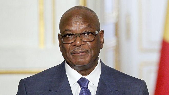 IBK reçoit des ex-otages au Mali