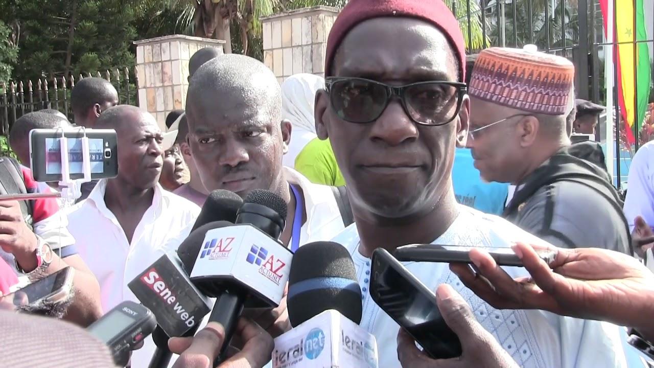 """Mamadou Diop """"Decroix"""", coordonnateur du Pôle des 4 candidats de l'opposition pour le contrôle du vote"""
