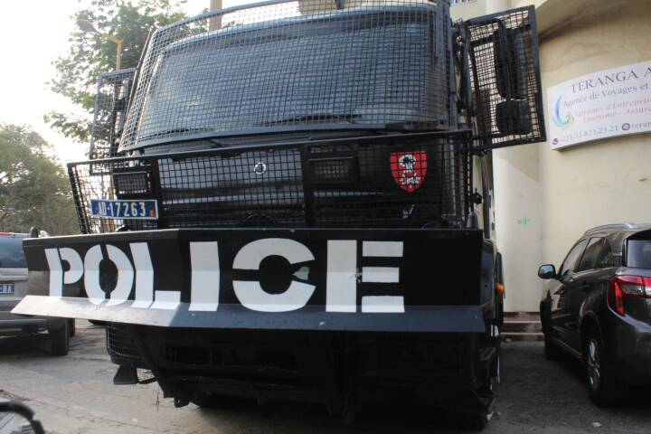 #Scrutin24Fevrier2019: un important dispositif sécuritaire déployé au fief de Khalifa Sall