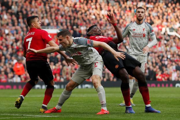 Premier League : Liverpool reprend la tête après son nul contre Manchester United