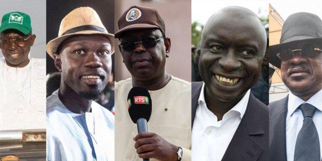 Résultats à Congo: Macky devance Idy et Sonko