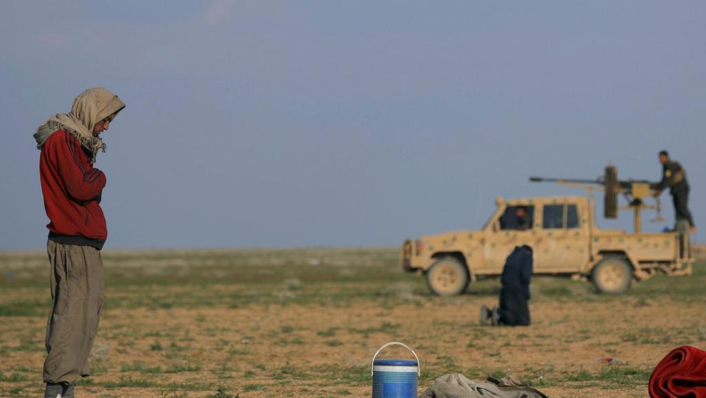 Syrie: 20 jihadistes étrangers remis à l'Irak dont 13 Français