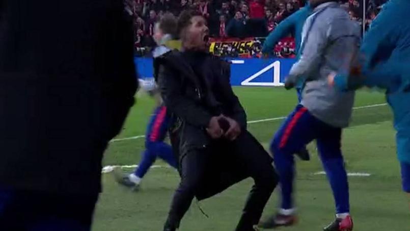 Atletico : Simeone ciblé par l'UEFA