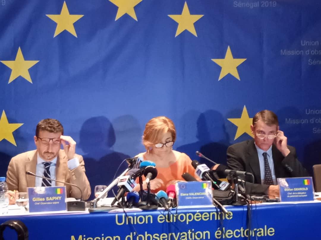 """La Mission d'observation électorale l'UE condamne les sorties """"contradictoires"""" du PM, de Idy et Sonko"""