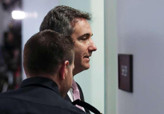 Michael Cohen, l'ancien avocat de Trump, entendu au Congrès sur les secrets de son patron