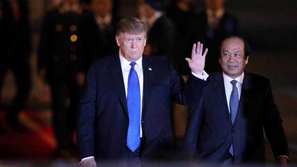 Vietnam: Donald Trump retrouve Kim Jong-un à Hanoï pour un nouveau sommet