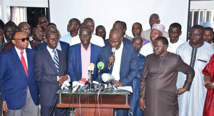 Direct point E: la déclaration de l'opposition après proclamation  des résultats provisoires du vote