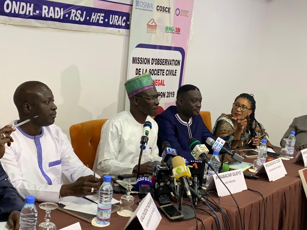 Présidentielle 2019 : la société civile satisfait du déroulement du scrutin mais...