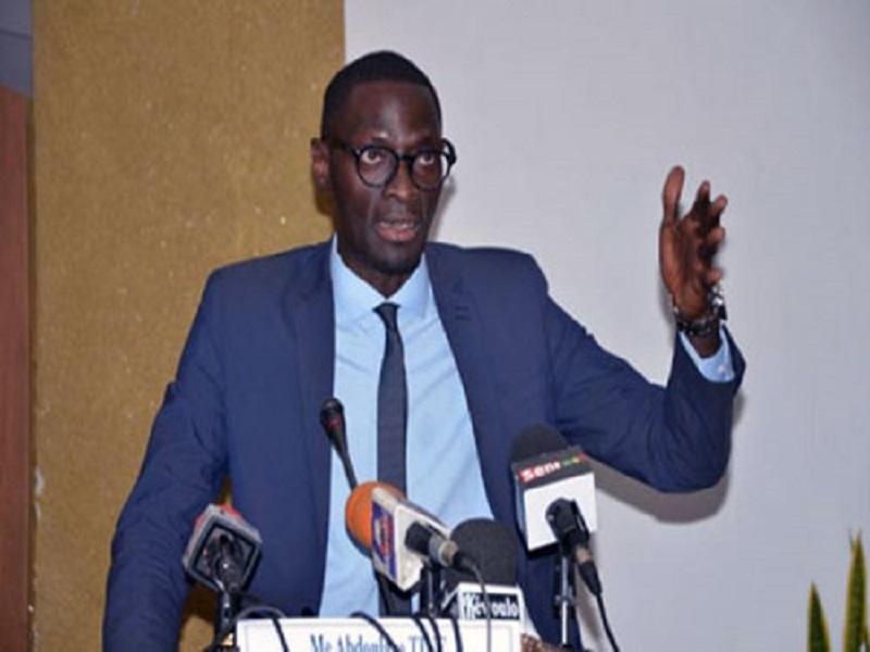 Me Abdoulaye Tine de «Idy 2019 » : «L'arrestation du colonel vise à frapper les esprits»