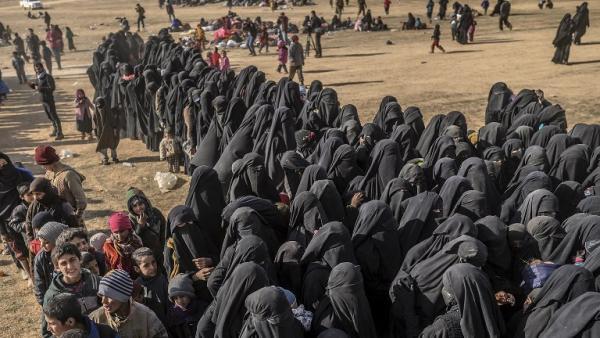 Syrie: à la rencontre de femmes de jihadistes qui ont survécu aux affrontements