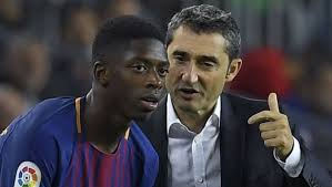 Barça : Ernesto Valverde énervé par Ousmane Dembélé
