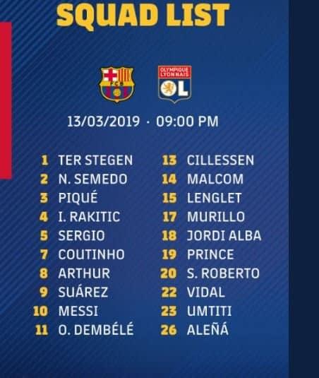 Barça vs OL : convoqué pour le match aller, Valverde se passe des services de Waguè pour le retour