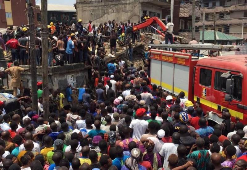 Nigeria: au moins 10 enfants pris au piège après l'effondrement d'un immeuble