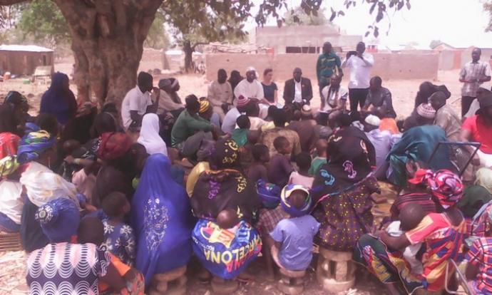 202 déplacés du cercle de Koro à Tinkelé : Le collectif des associations du pays dogon à leur rescousse