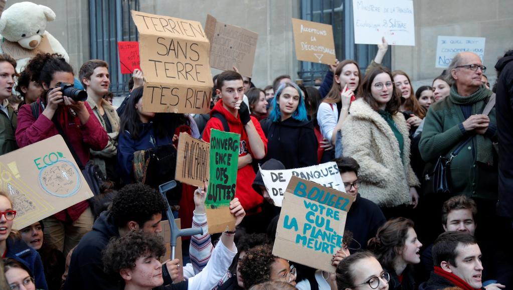 Grève mondiale pour le climat: un appel à la responsabilité