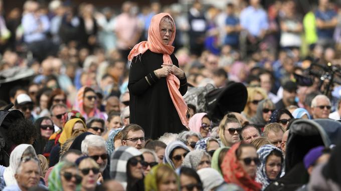 (Photos) Une semaine après l'attaque terroriste, elles ont décidé de mettre la voile en hommage aux victimes de la Nouvelle-Zélande