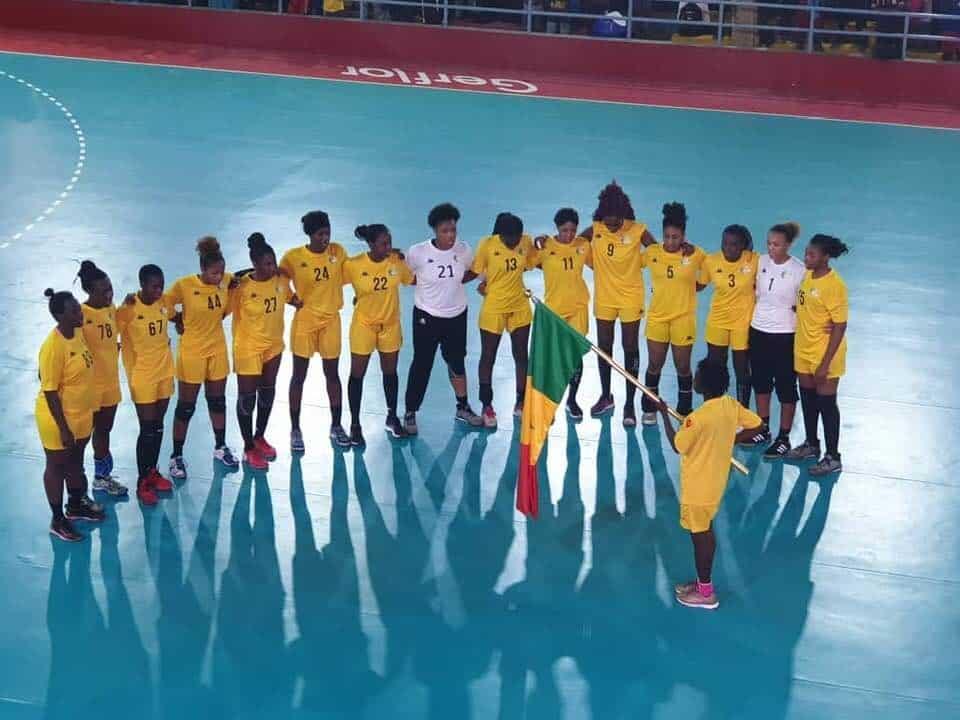 """Jeux africains 2019: les """"Lionnes"""" du Handball sont qualifiées !"""