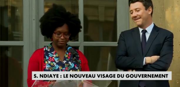 """Les premiers mots de Sibeth Ndiaye :  """"La France m'a beaucoup donné, c'est à mon tour de lui rendre."""""""