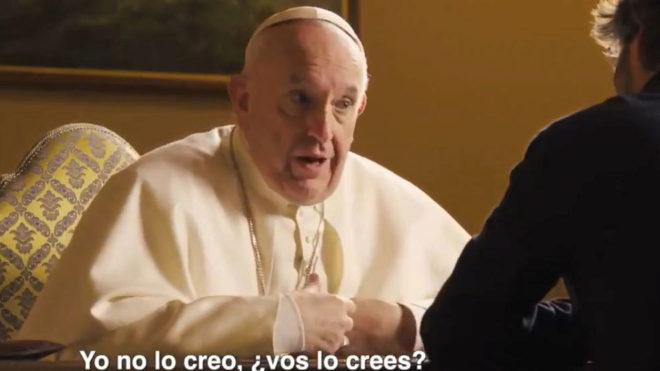 Pape François: Messi est bon mais il n'est pas Dieu