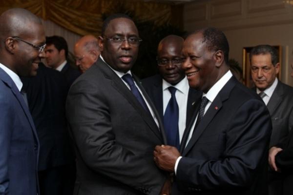 Investiture de Macky Sall : l'accueil solennel de Alassane Ouattara à Dakar