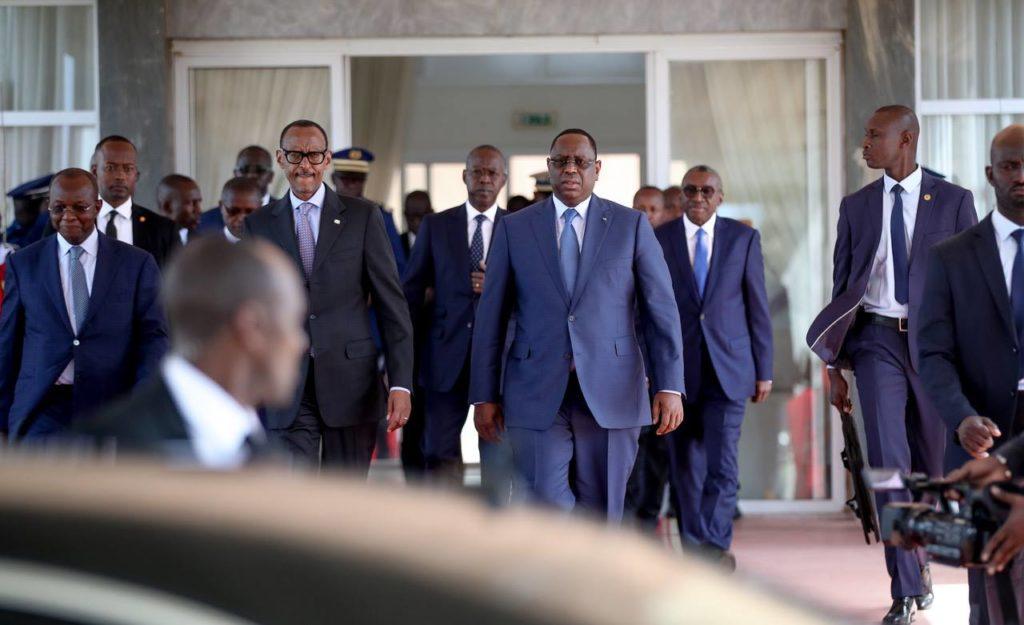 Diamniodio: 18 chefs d'Etats présidents à la prestation de serment de Macky Sall