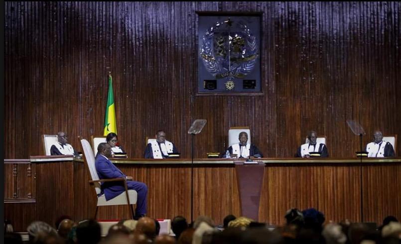 Prestation de serment de Macky: les «gaffes» du président du Conseil constitutionnel