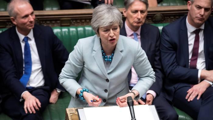 Le Premier ministre britannique Thérésa Maye demande le report du Brexit jusqu'au 30 juin