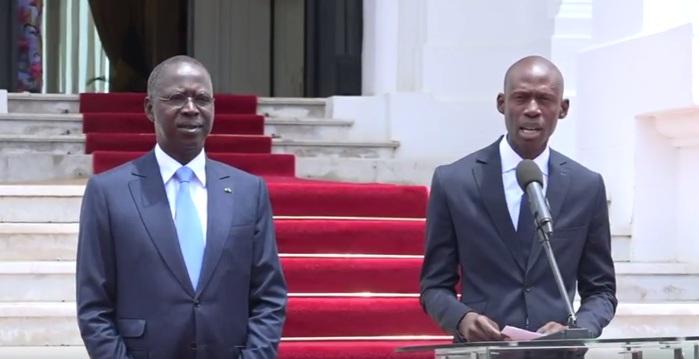 Maxime Simon Ndiaye nommé ministre, Secrétaire général du Gouvernement