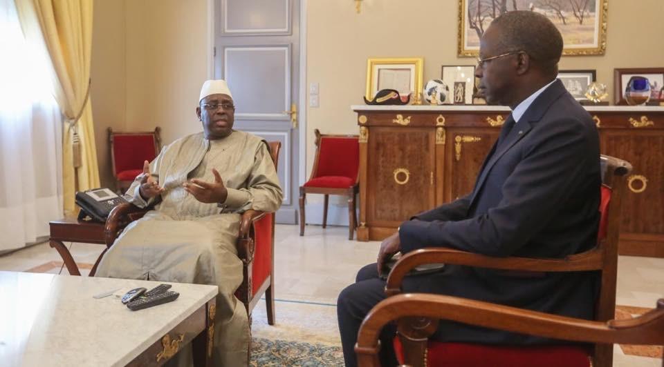 Présidence de la République: une journée de télé-consultations opérées par trois hommes