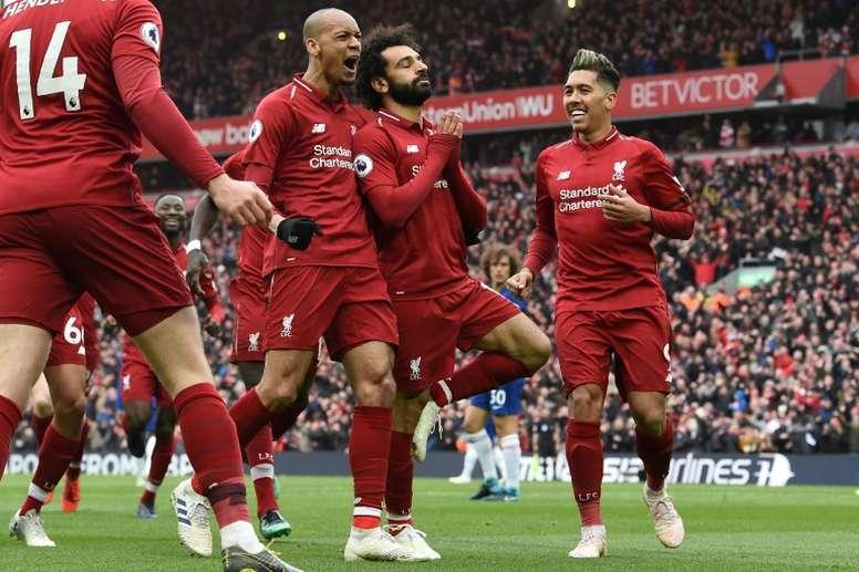 Salah est le meilleur buteur de Premier League avec Agüero