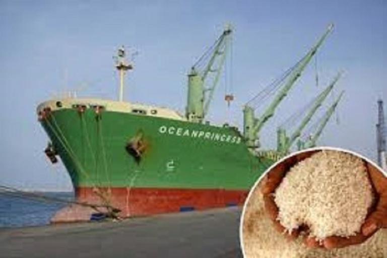 Le navire ''Oceanprincess'' bourré de riz impropre rejeté par le Sénégal, atterrit en Côte d'Ivoire