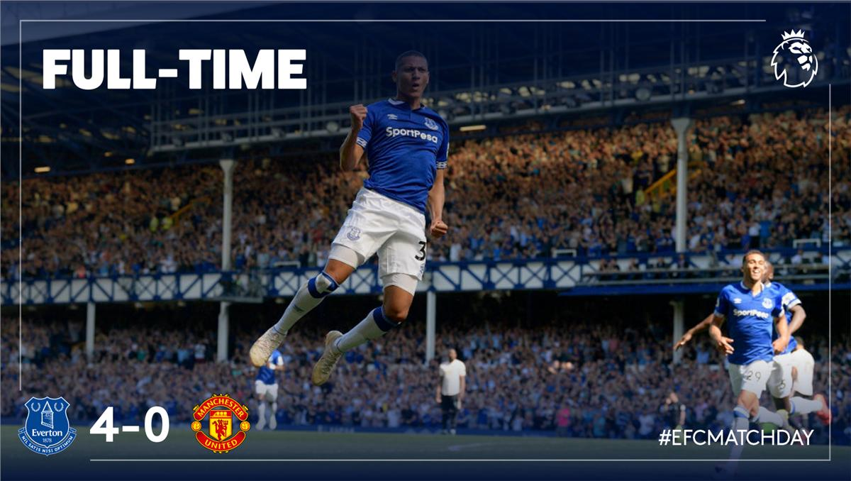 Premier League: Manchester United se fait humilier par Everton de Gana Gueye (4-0)